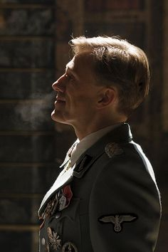"Christoph Waltz (October 4, 1956) as Col. Hans Landa in ""Inglourious Basterds"" 2009 age 43 #actor"