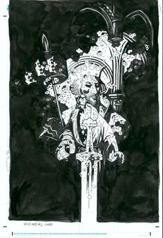 Mike Mignola - The Wild Hunt #6 by Mike Mignola - Comic Strip