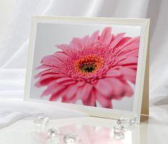 http://www.etsy.com/listing/85702742/honeysuckle-pink-herbera-blank-greeting    Honeysuckle pink herbera blank greeting by IrinaPhotographyCard, $3.99  #note #card, #notecard, #greeting #pink #gift #flower #pink #herbera #wedding #birthday #anniversary