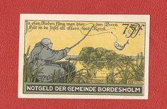 Germany Notgeld 75 pfennig 1921 Schleswig Holstein Bordesholm #46