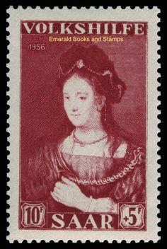 EBS Germany 1956 Saar Saarland Welfare set - Paintings Michel 376-378 MNH** in Stamps, Europe, Germany & Colonies   eBay