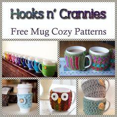 10 Free Crochet Mug Cozy Patterns | Hooks n' Crannies, DDP Yoga ...