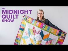 Quilting Is My Therapy Carpenter& Star Free Quilt Pattern - Midnight Quilt Show - Quilting Is My Therapy Star Quilt Blocks, Star Quilt Patterns, Star Quilts, Scrappy Quilts, Block Patterns, Quilting Tutorials, Quilting Projects, Sewing Projects, Quilting Tools