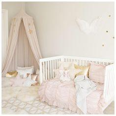 Dreamy girl nursery