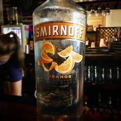 04a9c5d9912f Ice cold bottle of  Smirnoff  orange to make the perfect orange crush!