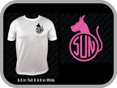Great Dane monogram shirt, dog shirts, dog monogram, round monogram, available in multiple colors - pinned by pin4etsy.com
