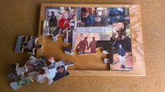 Custom Picture Collage Wood Puzzle by TheTreasureVine on Etsy