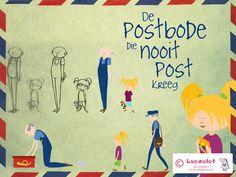 """""""De postbode die nooit post kreeg' kijk de animatie hier: https://vimeo.com/26930008 Gemaakt door Marloes Kiezebrink"""