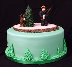 hunters and deer for cakes Google Search Cakes Pinterest Cake