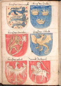 Wernigeroder (Schaffhausensches) Wappenbuch - BSB Cod.icon. 308 n, [S.l.] Süddeutschland, 4. Viertel 15. Jh. Folio: 23v