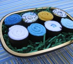 10 Alternatives to Diaper Cakes: Washcloth Cupcakes, Sushi Rolls & More! | Disney Baby