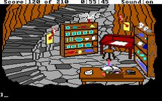 Adventure Quest, Adventure Games, Computer Video Games, Gaming Computer, Sierra Online, Evil Wizard, Right In The Childhood, Classic Video Games, Thanks For The Memories