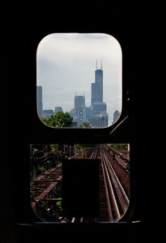 From the conductor's POV. Chicago.
