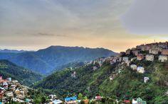 Shimla Beautiful Landscape HD wallpaper