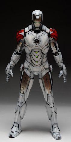 Iron Man Mark IV (Hot Toys) Custom Paint: