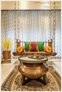 the east coast desi: Easy Elegance (Home tour) India Home Decor, Ethnic Home Decor, Indian Home Interior, Indian Interiors, Victorian Interiors, Indian Inspired Decor, Indian Room Decor, Indian Doors, Home Entrance Decor