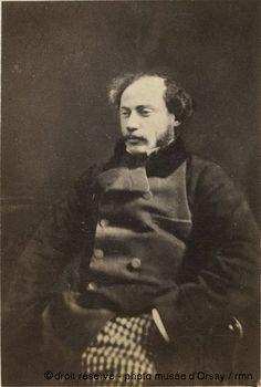 Alexandre Dumas fils, par Félix Nadar, vers 1860