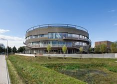 Ecological university building by BDG Architects (Wageningen, The Netherlands) #architecture