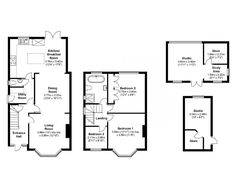 Trendy Home Sweet Hom Drawing House Plans 52 Ideas Kitchen Extension Floor Plan, 1930s House Extension, House Extension Plans, House Extension Design, Rear Extension, Extension Ideas, Brick Extension, Open Plan Kitchen Diner, Open Plan Kitchen Living Room