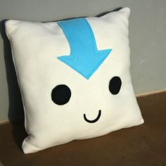 Avatar Aang Pillow by anastasiadavis on Etsy, $15.00