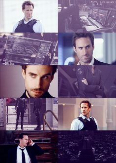"""Marvel genderswap ▶ Joseph Fiennes as Mario Hill """"You put those people together, you can't expect what's going to happen…"""""""