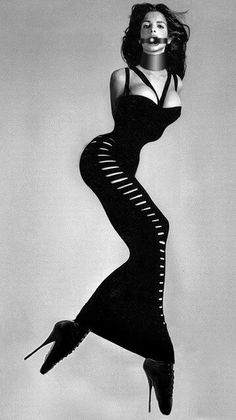 Stephanie Seymour by Richard Avedon