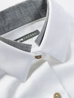 OVO Things Twill Shirt with a unique collar detail as just a hint of another…