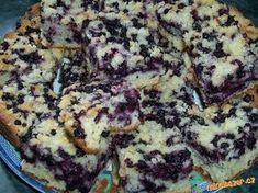 ;*;*;*;* výborný rychlý borůvkový koláč se žmolenkou ;*;*;*;* Eastern European Recipes, Czech Recipes, Pastry Cake, Quiche, Muffin, Menu, Yummy Food, Sweets, Baking