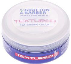 The Grafton Barber Textured - Texturising cream which gives maximum texture with medium hold and matte finish. #Hair #Men #Style