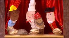 Learn how to make your very own Swashbuckle pirate sock puppets with Gem, Cook and Line.
