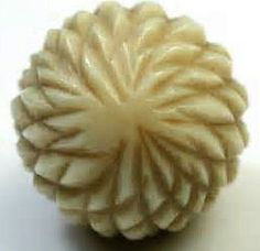 Old Vegetable Ivory Button