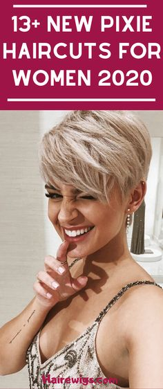 15 Pixie Cut Hairstyles for Women to Copy in 2019 Love Your Hair, Cut My Hair, Short Hair Cuts For Women, Short Hairstyles For Women, Pixie Styles, Short Hair Styles, Pixie Hairstyles, Pixie Haircuts, Medium Haircuts