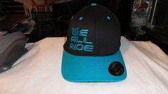 gorra we all ride 100% original consultar talla azul cerrada