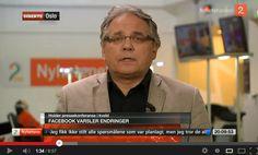 Morten Myrstad om Facebook nyheter på TV2