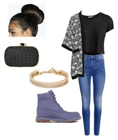 """School"" by antaneawalker on Polyvore featuring Boohoo, Pieces, H&M, Timberland, Studio and Eddie Borgo"