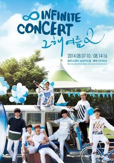 INFINITE official Fancafe New Layout 'INFINITE CONCERT 그해여름2'