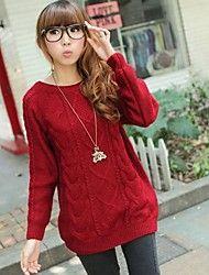 Women's New Retro pattern pullover Sweater – EUR € 14.95