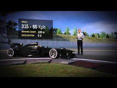 Formula 1 2013 China Grand Prix Pirelli 3D track lap simulation video preview