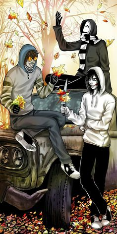 CREEPYPASTA TICCI TOBY , KAGEKAO , JEFF THE KILLER