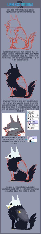 Lineless art tutorial 1 by Chigle on DeviantArt