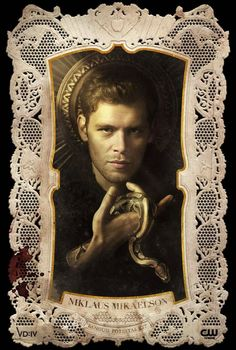 Klaus season 4 promo pic. Assuming the snake means he's up to something (again).