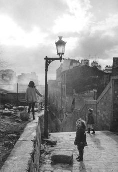 """Robert Doisneau-   """"The marvels of daily life are exciting; no movie director can arrange the unexpected that you find in the street."""""""
