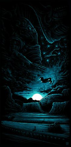 Dan Mumford Prometheus LV-223 & Blood Simple Posters On Sale