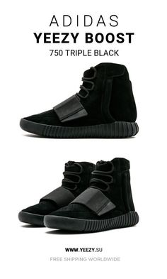 Buy Cheap Adidas Yeezy Boost 750 Triple Black sneakers online  sneakers   fashion  shoes 0d2de487d
