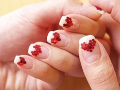 89 Most Fabulous Valentine's Day Nail Art Designs - What do you think of giving your hands a romantic look on Valentine's Day? The easiest way to get catchy hands and make them more gorgeous is to chang... -  valentines day nails (79) ~♥~ ...SEE More :└▶ └▶ http://www.pouted.com/89-most-fabulous-valentines-day-nail-art-designs/