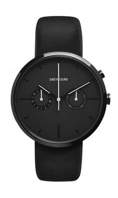 Watch- Greyhours- Black