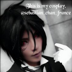 Tried cosplaying Sebastian Michaelis from Black butler. I put my signature tattoo on my right cheek so you know it is me.  LOL I saw a cosplay on the internet and got inspired. LOL I am bored.  Anyways school sucks. Now that I'm in grade eight homework has gotten heavier. I know how you feel @hotaru_chitogi.  I miss my friend that moved. Well she was the closest friend that I had but thank goodness she is on instagram.  I know a lot of people. And YES I can speak french. If you really want…