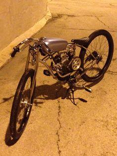 Boardtrack Racer Inspired Motorized Bicycle   eBay