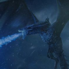 The Night King and the Ice Dragon.