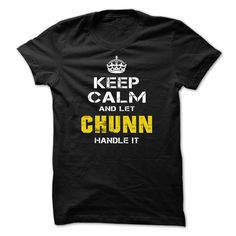 [Top tshirt name list] Let CHUNN Handle it    Teeshirt this week